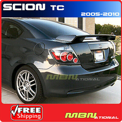 05-10 Scion TC 2D Coupe Rear Trunk Tail Wing Spoiler Painted ABS