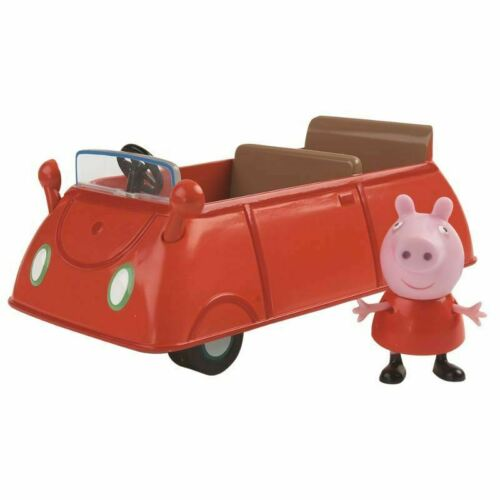 Peppa Pig Vehicles /& Figures Toys NEW Police Car School Bus Boat Camper Van