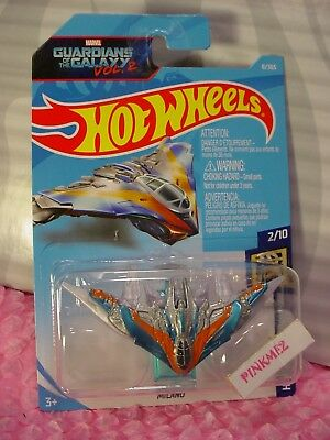 Marvel Guardians Of The Galaxy Vol 2 Milano with Stands Hot Wheels Lot of 2