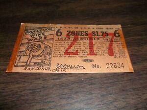 JULY-1943-SAN-DIEGO-EASTERN-RAILWAY-SIX-ZONE-TICKET