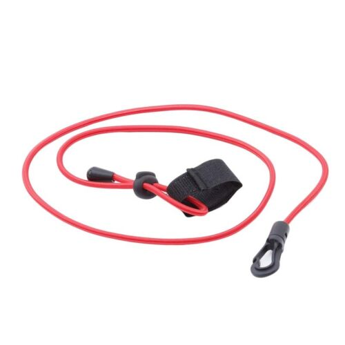 Bungee Cord G Tether Kayak Boat Canoe Paddle Leash Fishing Rod Coil