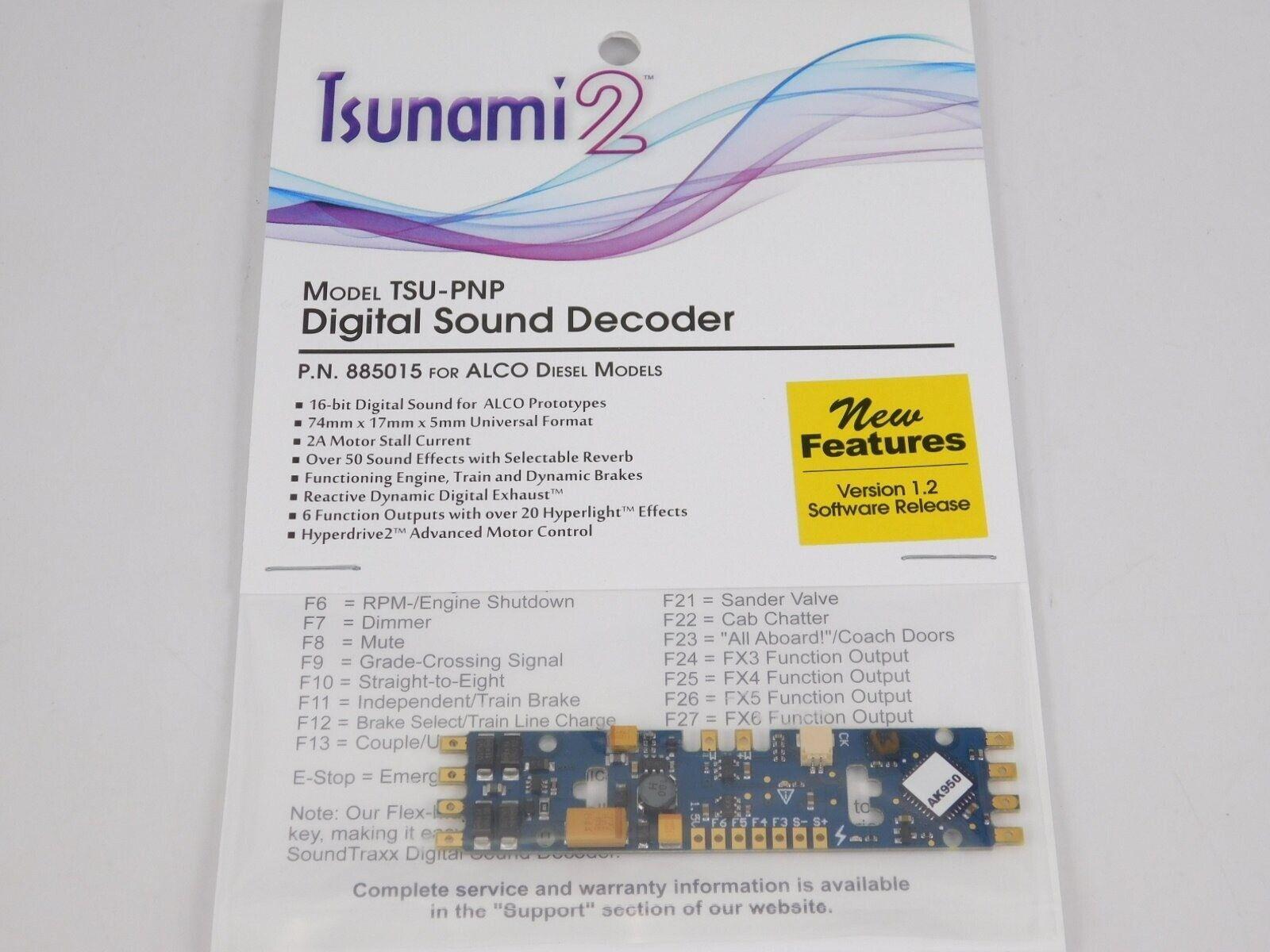 suonotraxx TSUNAMI 2 TSUPNP 885015 DCCsuono decodificatore per ALCO indistruttibili