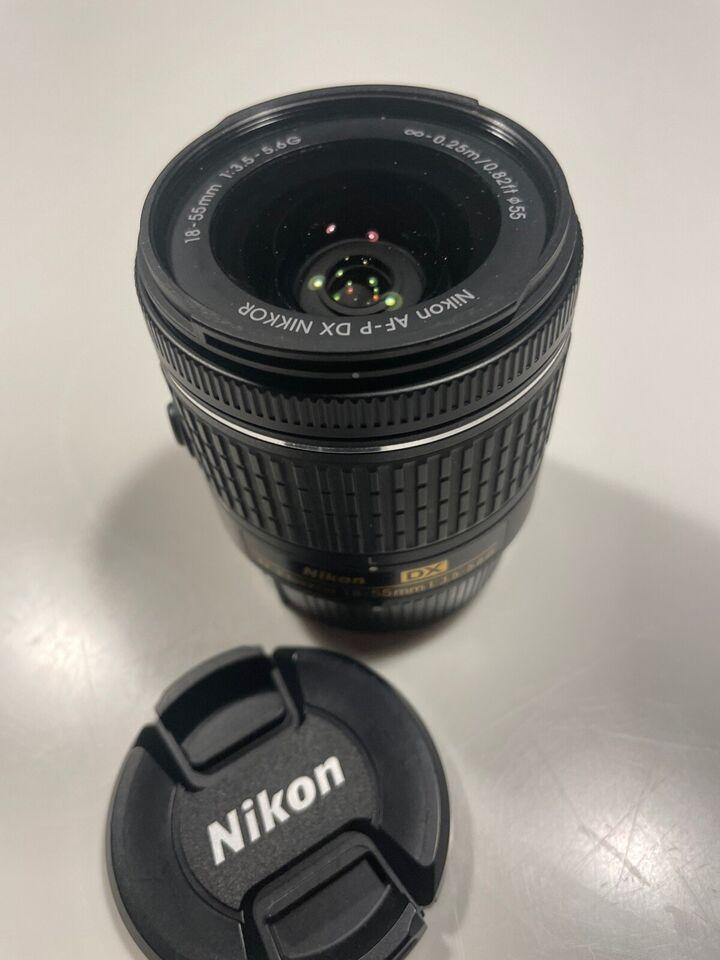 Universal, Nikon, Nikkor AF-P DX 18-55mm f/3.5-5.6 G