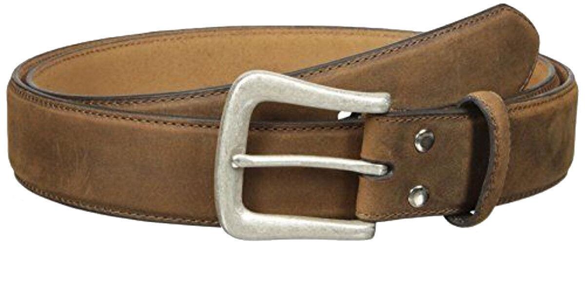 Nocona Western Mens Belt Smooth Leather Tan  N2450044