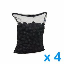 "4 Packs 500pcs Aquarium 1"" Super Bio Balls with Filter Media Bag"