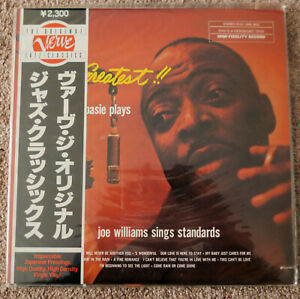 COUNT-BASIE-JOE-WILLIAMS-The-Greatest-Album-FACTORY-SEALED-Japan-Verve-Reissue