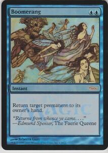Blue Gateway Mtg Magic Rare 1x x1 1 PROMO PLAYED FOIL Boomerang
