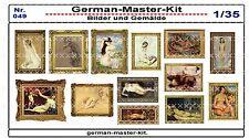 049, Diorama Zubehör Serie Bilder und Gemälde, 1:35, GMKT World of War II