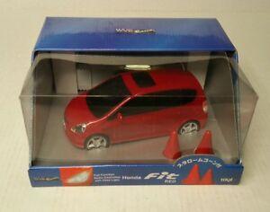Wave-Racing-2001-08-Honda-Fit-Radio-Controlled-Car-Red-1-24-Japan-HTF