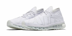 a942e14be71b Nike Air Max Flair Mens 942236-100 White Pure Platinum Running Shoes ...