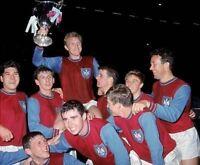 Bobby Moore West Ham United Early Team 10x8 Photo