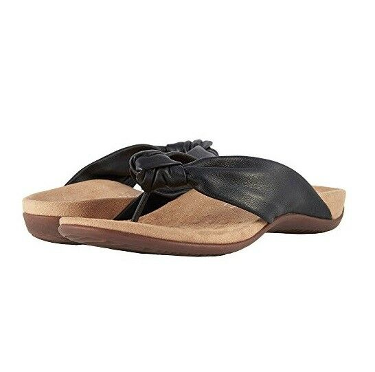 8178cb15bdd1 Vionic Women s Rest Pippa Toepost Sandal Black 9m for sale online
