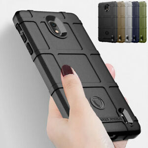 on sale 922b4 3c202 Details about For Nokia 1 Plus/Nokia 4.2 Shockproof Soft Rubber Rugged  Shield Back Case Cover