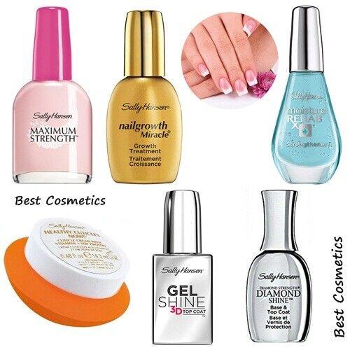 Sally Hansen Strength Growth Cuticle Nail Treatment Top Coat Polish Select