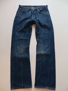 Levi-039-s-508-Loose-Jeans-Hose-W-33-L-34-Denim-mit-KULT-Waschung-Weit-amp-Bequem