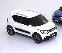 1x NEW Genuine Suzuki IGNIS Pull Back Car Toy Model WHITE 1:43 99000-79N12-IG1