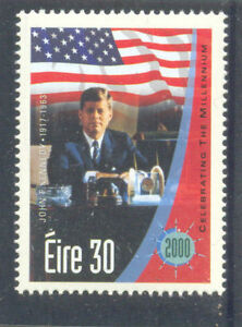 Image Is Loading President John F Kennedy Mnh Single Value Ireland