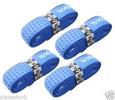 4 x Karakal Tribal Super PU Replacement Grips - Tennis - Squash Badminton - Blue