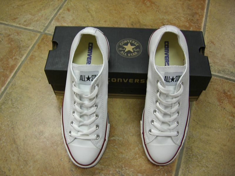 Converse   Chucks  All Star   OX Gr.42  White  Weiß  M7652  Neu e1de83