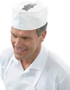 Caricamento dell immagine in corso Bustina-Bianca-Cappello -Alimentare-In-Rete-Cotone-Panettiere- c3f59bc0149b