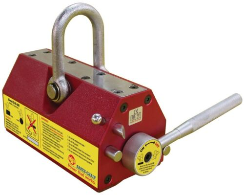 EARTH CHAIN EZ-LIFT ELM-100 LIFTING MAGNET RATED 220 lbs