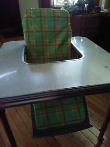Tremendous Details About Vintage 1960S Baby Caddy Feeding Table High Chair Wheels Atomic Complete W Cover Inzonedesignstudio Interior Chair Design Inzonedesignstudiocom
