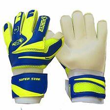 goalkeeper, goalie, soccer gloves, FINGER PROTECTED SIZE:5