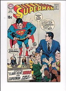 Superman-219-August-1969
