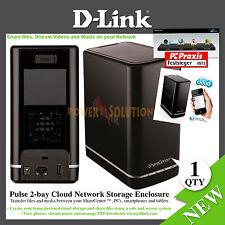 D-Link ShareCenter 2 Bay Cloud Network Storage Enclosure 0 GB DNS-320L