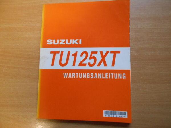 Adattabile Officina Manuale Suzuki Tu 125 Xt 1999-2000 Istruzioni Di Riparazione-uch Suzuki Tu 125 Xt 1999-2000 Reparaturanleitung Prestazioni Superiori