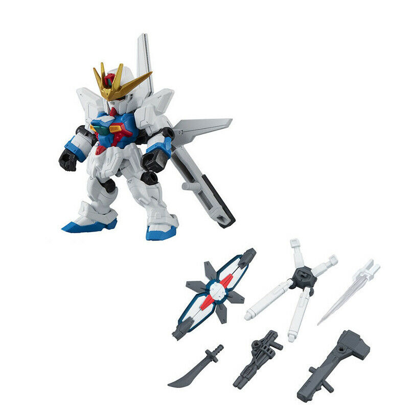 Bandai Mobile Suit Gundam Ensemble 3.5 Gashapon Figure Set of 5 ZETA Tr-1 Acguy for sale online