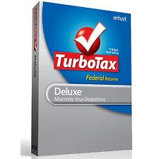 Intuit TurboTax Deluxe 2012