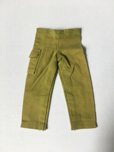 Green khaki fatigue trousers pockets Palitoy Action Man 1:6 SELECTION ShimmyShim