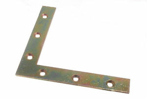 Neuf-Equerre-Plate-de-Coin-125MM-X-20MM-X-2-5MM-Avec-6MM-Trou-Yzp-Bx-De-20