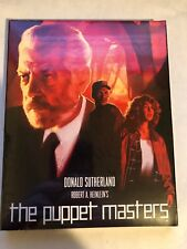 The Puppet Masters Blu Ray Donald Sutherland Robert A Heinlein For