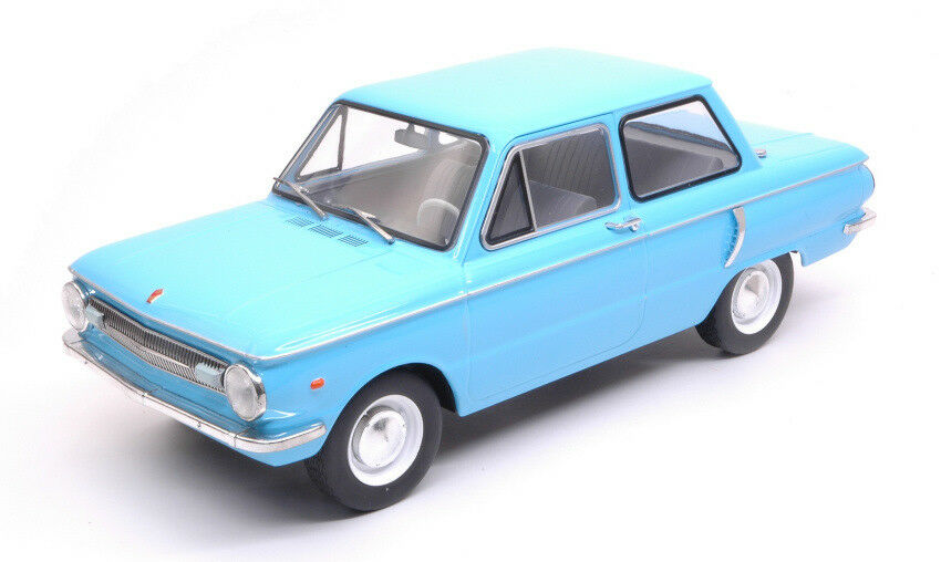 ZAZ 966 Light azul 1 18 Model modelcargroup