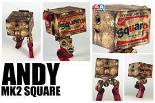 3A Ashley Wood threeA 1/6 WWR Andy The MK2 Square + Signed Print brillo warhol