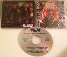 Brutal Truth - Perpetual Conversion CD OOP RELATIVITY/EARACHE exit-13 dark angel
