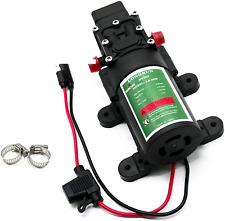 Longrun Fresh Water Pump 12v Dc Diaphragm Pump With Adjustable Pressure Switch 2