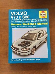 haynes manual volvo v70 01 one word quickstart guide book u2022 rh ebmaintenance co uk 2009 Volvo XC70 2007 Volvo XC70 Reliability