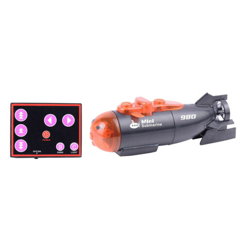 Mini RC Submarine Toy Remote Control Boat Ship Electronic Waterproof Boat