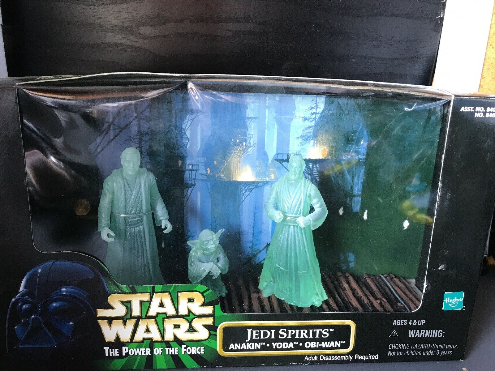 "Star Wars 3.75"" Action Figures Jedi spirits"