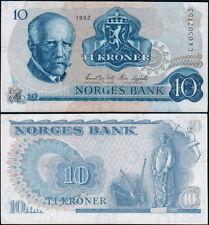 NORVEGIA - Norway 10 kroner 1982 - F