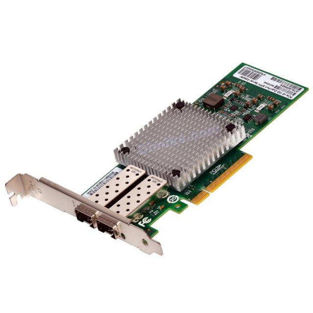 10g Server Adapter 2x Port SFP NIC LAN Card Intel 82599es X520  Ship