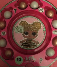 LOL SURPRISE DOLL 10 EXTRA ASSESORIES From BIG GOLD GLITTER BALL Limited Edition
