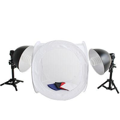 Photo Studio Photographic Softboxes 2 x 135 W Continuous Lighting Daylight Kit