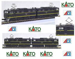 Kato-microace A0821 Look Et Eh10-51 Black Jr Ovp Échelle-n
