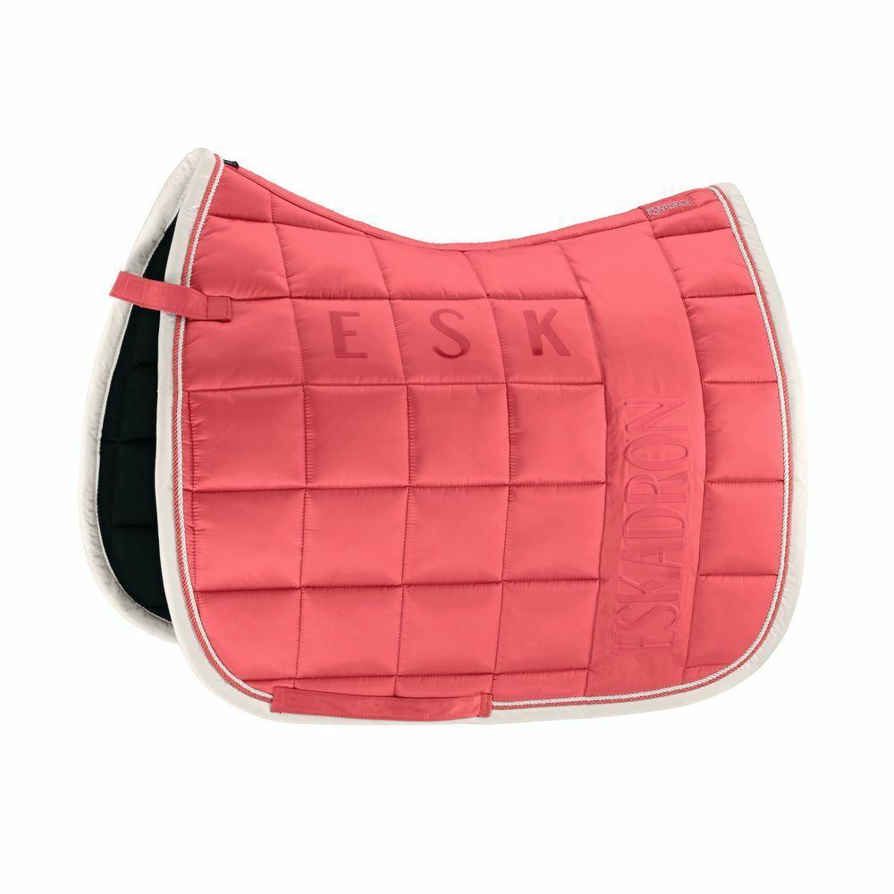 ESKADRON classeic sport FS 2019 saddle Cloth gree Square lucidaFUSION CORAL