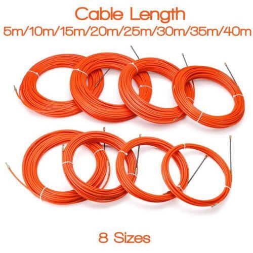Orange Fuehrungs Vorrichtung Nylon Elektrische Kabel Push Pullers Kanal Sch U3M2