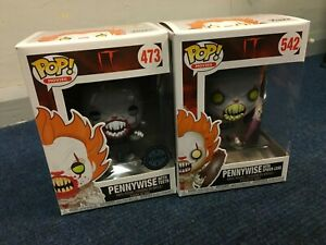 9cm Funko POP 542 Vinyl IT with spider legs Pennywise